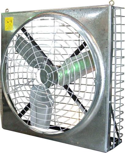 Ventilation Fan W/Rear Net (Direct Drive)