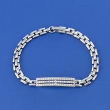 Three Line Bar Bracelet