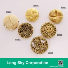 2018 gold plated shank back suit buttons, B66-1_2