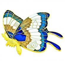 metal brooch | enamel pins | cloisonne butterfly brooch